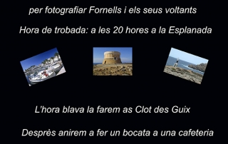 Cartel excursion a Fornells